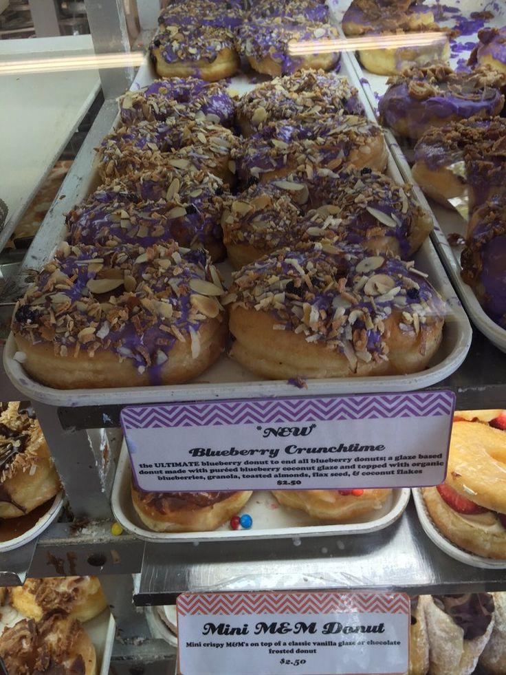 DK's Donuts & Bakery - Santa Monica, CA, United States. Blueberry ube crumb