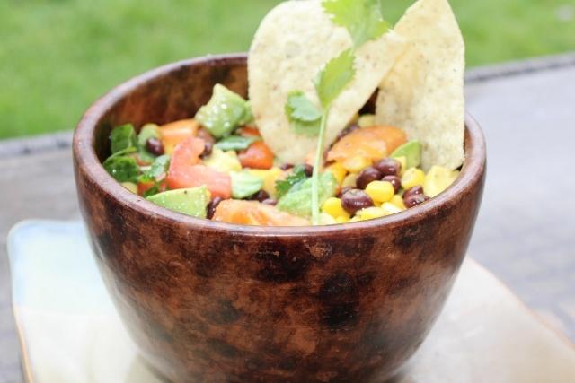 Corn salsa -- the perfect dish for summer.: Recipe