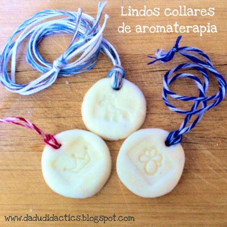 DIY Collares infantiles & aromaterapia | Manualidades