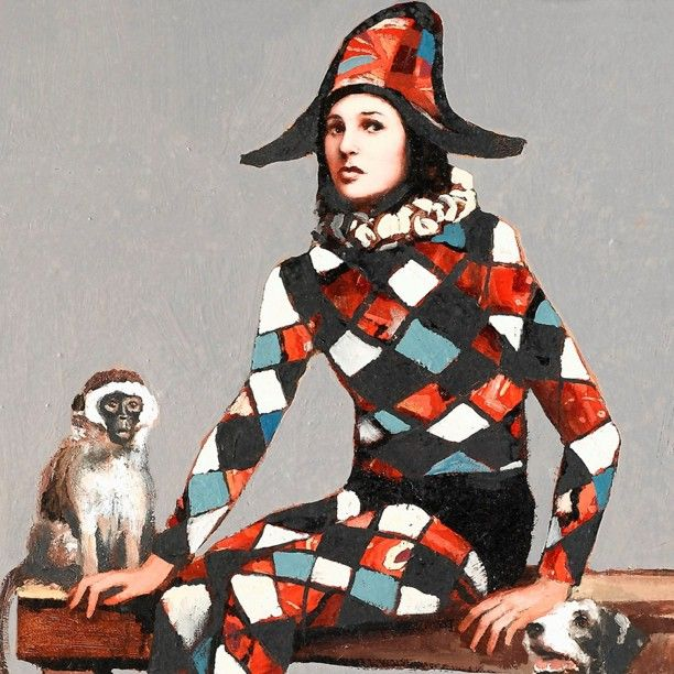 51 best Pierrot, Arlequín y Colombina images on Pinterest | Comedy ...