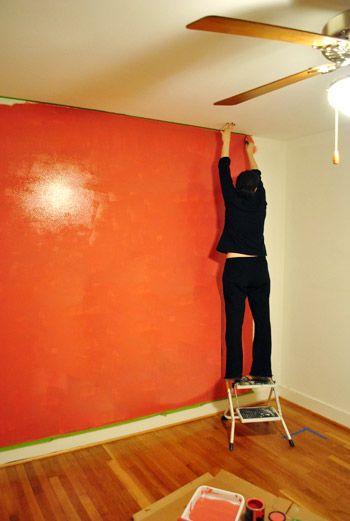 Best 25 orange bedroom walls ideas on pinterest for Bright orange bedroom ideas