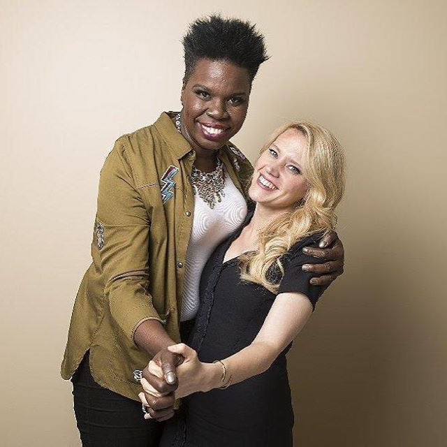 Leslie Jones and Kate McKinnon of Saturday Night Live - love these two, they always make me crack up!!