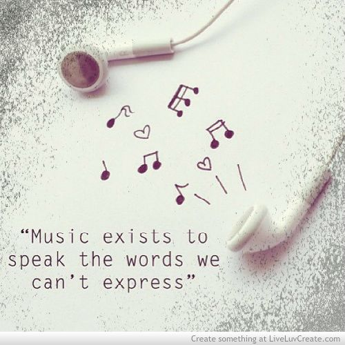 quotes tumblr music music is my life Pinterest We