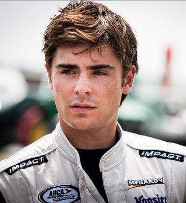 Zac Efron as a RACECAR DRIVER?! What could possibly be any better?! <3 <3