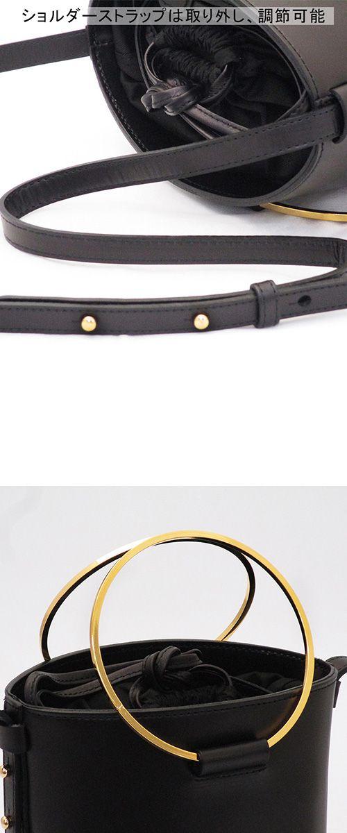 楽天ランキング1位!長財布も入るバケツ型バッグ。ヴィオラドーロ VIOLAd'ORO バケツバッグ 2way ショルダー リングハンドル 本革 v-1184