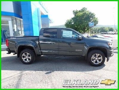 2017 Chevrolet Colorado Z71 Crew Cab 4x4 Leather MSRP $37235 Z71 4x4 Crew Cab $399 Lease Leather Heated Seats Trailering Pkg Graphite