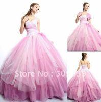 Robe de mariage vestido de bola vestidos con chaqueta desmontable vestido de boda de rosa 2015 vestido de noiva romántica casamento