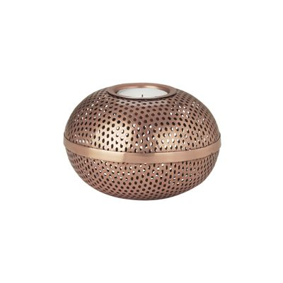 Louise Roe copper candle holder is a timeless accessory for your home. Made in Denmark