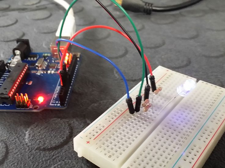 Connect and control an RGB LED with an Arduino Tutorial