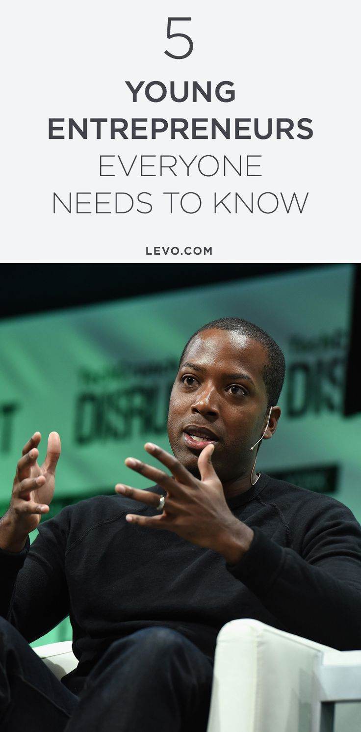 These 5 young Millennials are disrupting tech, fashion, and more. @levoleague www.levo.com