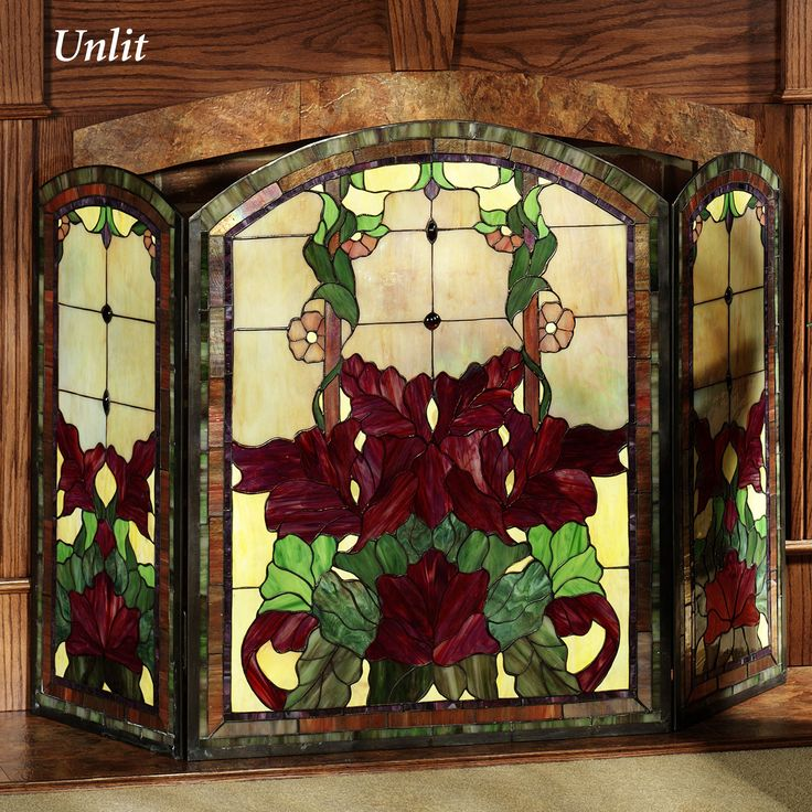 Best 25+ Glass fireplace screen ideas on Pinterest | Stained glass ...