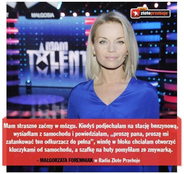 Małgorzata Foremniak, aktorka
