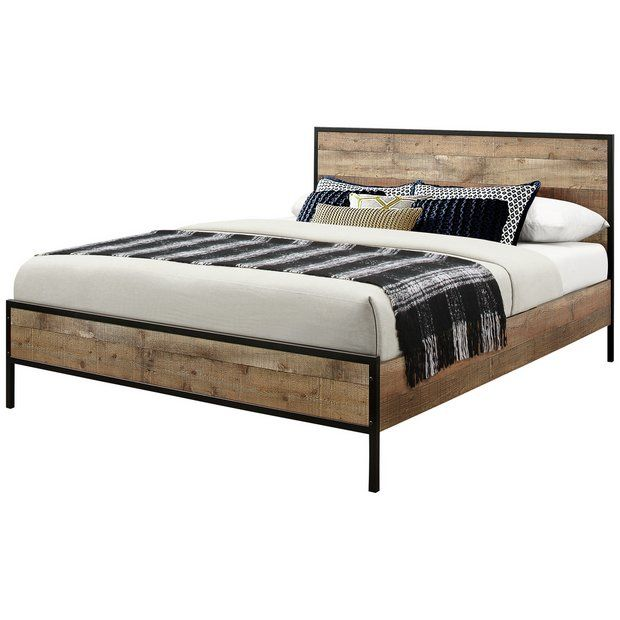 Buy Birlea Urban Rustic Double Bed Frame At Argos Thousands Of