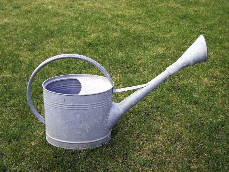 Large Watering Can, in very good condition, sprays well, good solid construction.