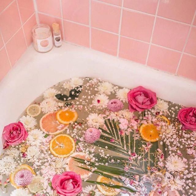 Bathtub Reglazing Ideas Flower Bath Floral Bath Bath
