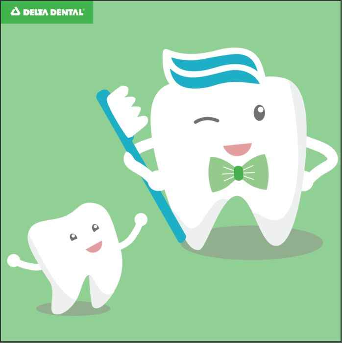 Did you know that Dad is less likely to brush his teeth than Mom? This #FathersDay, make sure you tell Dad you care about him AND his smile! Happy Father's Day! #DeltaDental