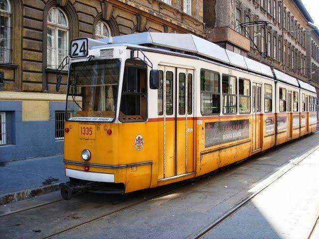 budapest streetcar