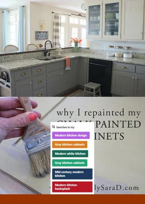 Painting Kitchen Cabinets Color Ideas #kitchencabinets and