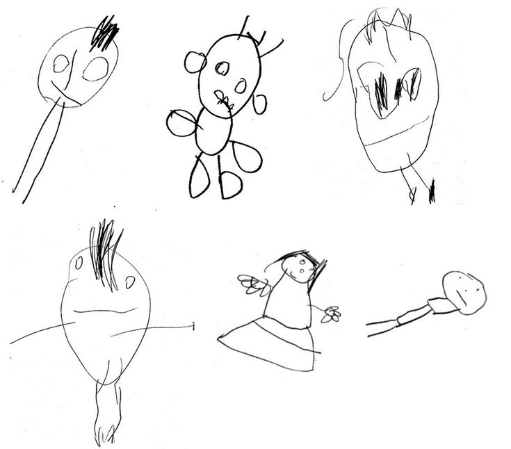 What Kids' Drawings Say About Their Future Thinking Skills by Maanvi Singh, npr:  #Psychology #Kids #Drawing