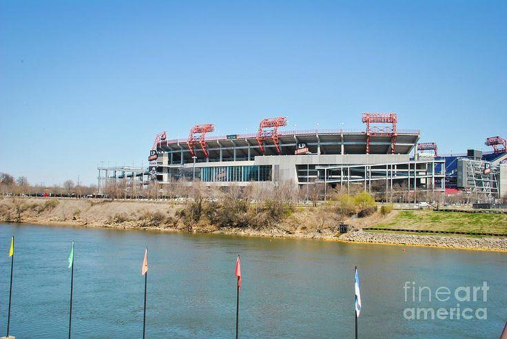 Nissan Stadium by Pamela Williams #sharepamsart #fineart #photography #gift #stadium #nissan #nashville