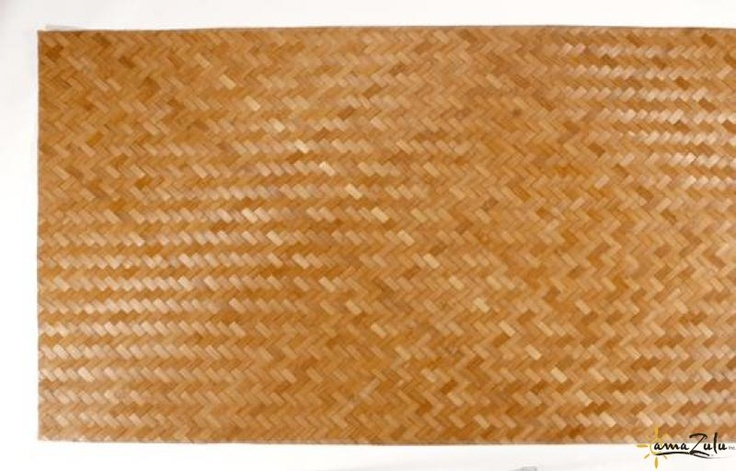 Amber Bamboo Boards provide the perfect finish to any surface in need of a tropical texture. Woven in a herringbone pattern, these boards have little to no color variation. This trait makes them useful for projects where a natural bamboo color is desired. Their flexible nature allows them to be cut into any shape. Yet, amaZulu's Amber Bamboo Boards remain rigid and light enough to make for an easy installation. See more at http://www.amazuluinc.com/amber-bamboo-board