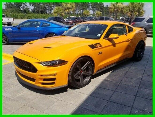 Ebay Advertisement 2018 Ford Mustang Gt Premium Saleen 302 Yellow
