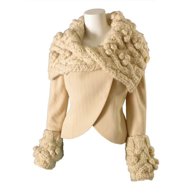 Dior knitted jacket. Inspiration.