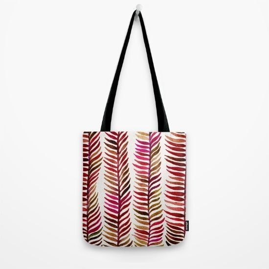 Red Stems by Cat Coquillette, $22. https://society6.com/product/red-stems-v9i_bag?curator=bestreeartdesigns
