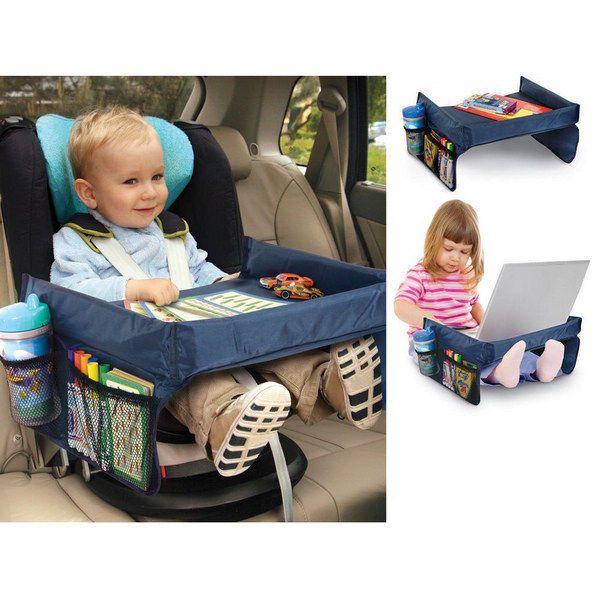 Wasserdicht Kinder Spieltisch für Auto Kindersitze Autositz Reisetisch Esstisch