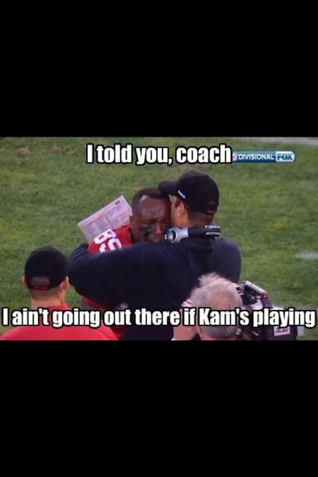 They don't call Kam Chancellor BAM BAM for nothing!