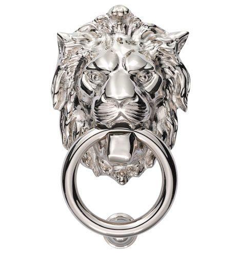Lion Door Knocker Rejuvenation Available In 5 Finishes