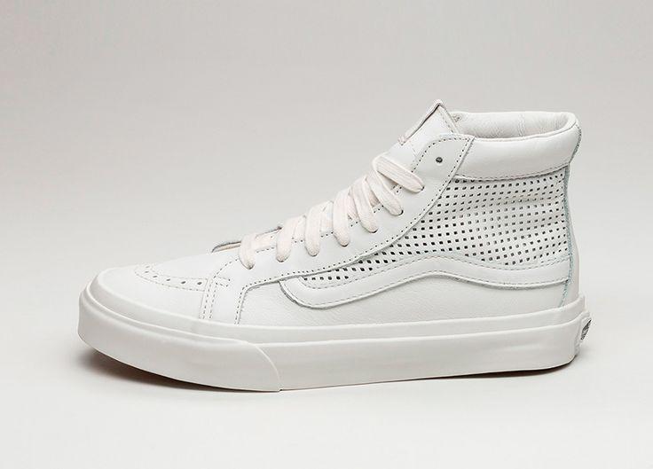 Vans SK8-Hi Slim Cutout DX *Square Perforated* (Blanc de Blanc) #lpu #sneaker #sneakers