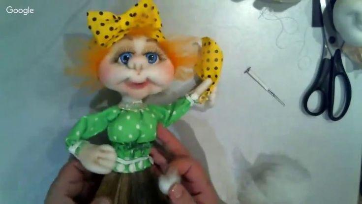 """Мастер класс по кукле """"Метла Метелкина"""" в скульптурно-текстильной (чулоч..."""