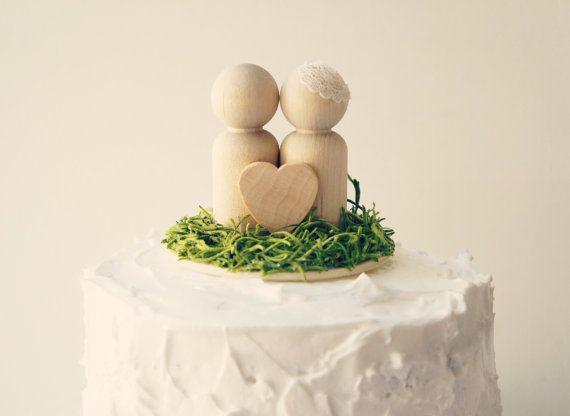 Topper de gâteau de mariage de Woodland topper par Lietofiore