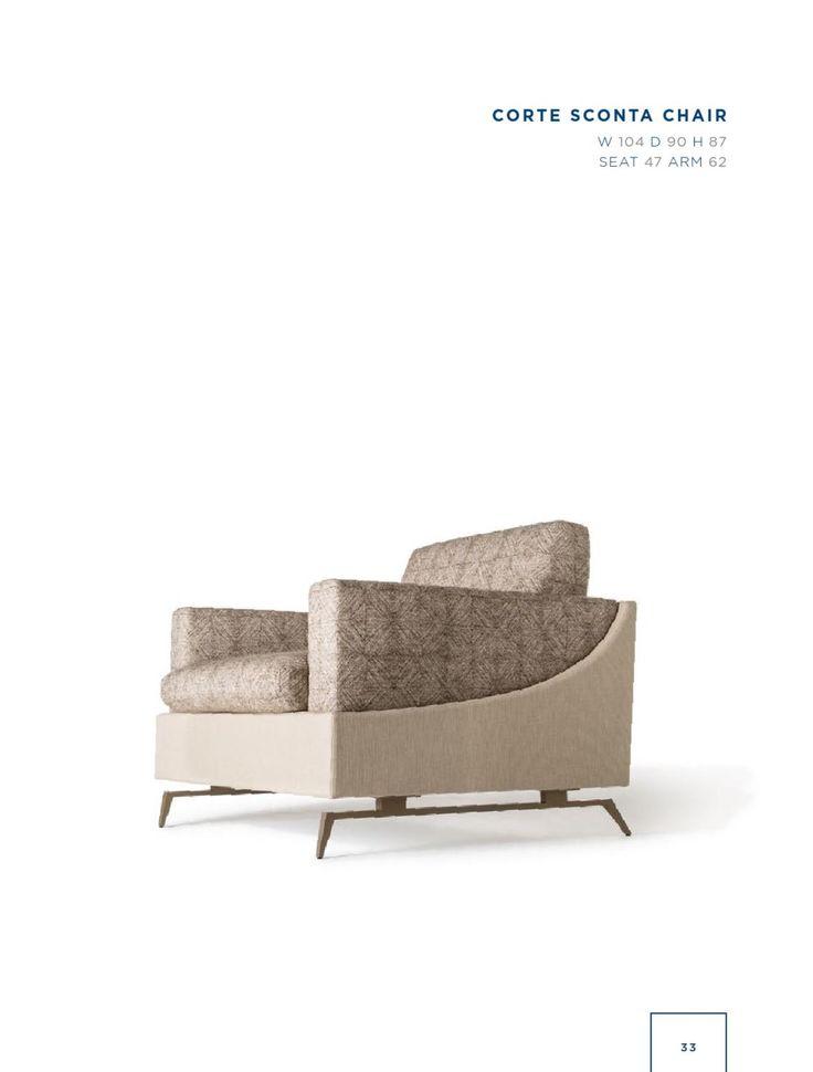 Rubelli Casa - Corte Sconta chair