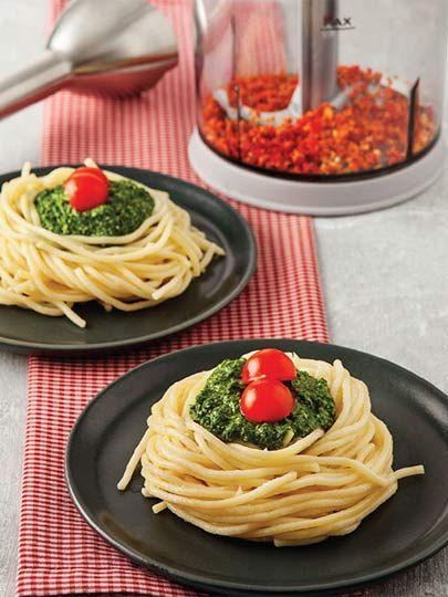 Ispanak soslu makarna Tarifi - Türk Mutfağı Yemekleri - Yemek Tarifleri