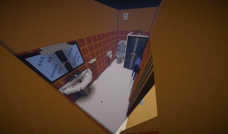 """Lobby di minatoriunti. Una enorme casa tutta da visitare. Il """"Bagno"""""""