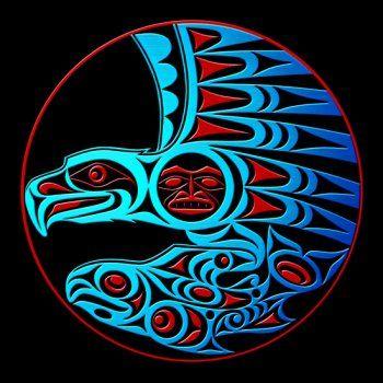 Eagle and Salmon by Joe Wilson