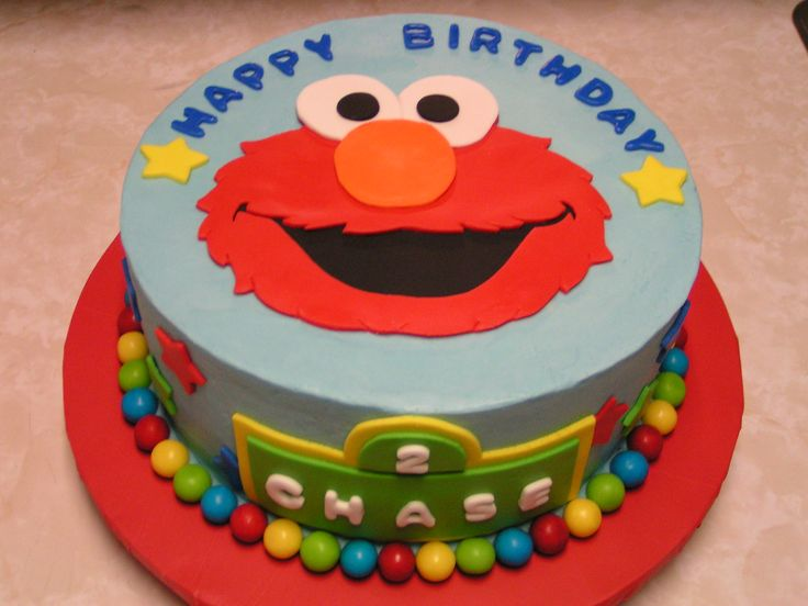 Elmo Birthday Cake Pictures