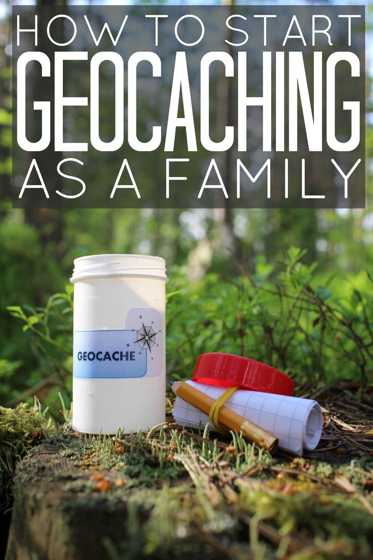 How To Start Geocaching As A Family Now! It's a fun outdoor activity for families, ideal for summer and fall.