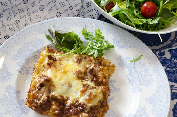Lasagne er en av de middagsrettene som bare går og går og aldri blir utdatert.