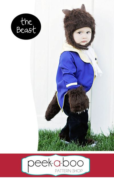 Beast costume from Beauty and the Beast.  Have a boy and girl to both dress up?  This would be ideal.