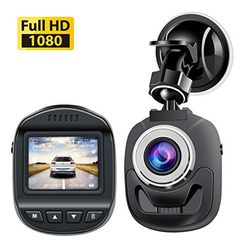 Mini Dash Cam Full HD 1080P 120 Degree Wide Angle Lens DigitalCar Dashboard Camera Driving Video Recorder WDR Loop Recording Motion Detection G-Sensor