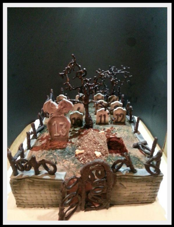 Spooky Cemetery Cake | Jest Dessert Creations Part 1 ...