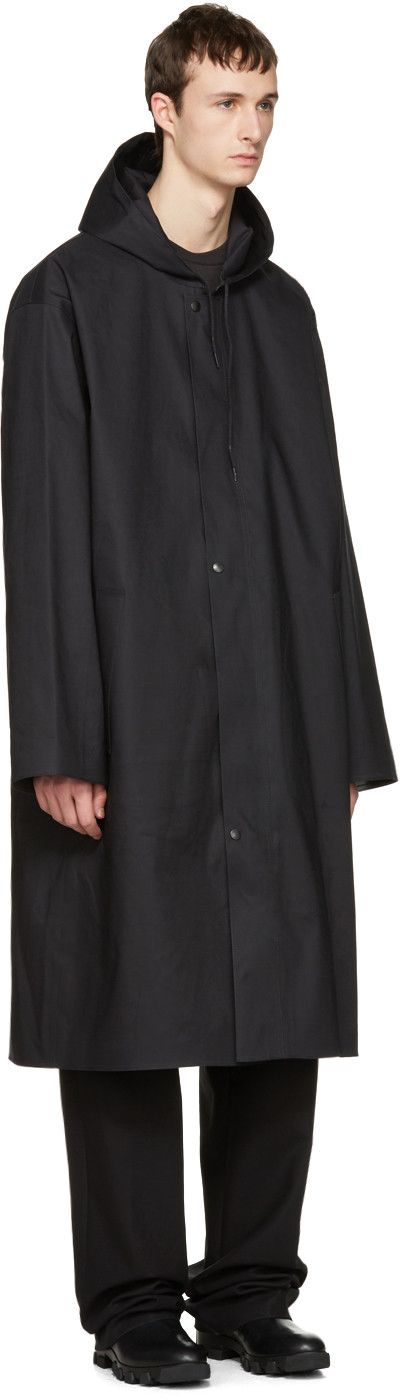 Vetements - ブラック Mackintosh Edition オーバーサイズ レイン コート