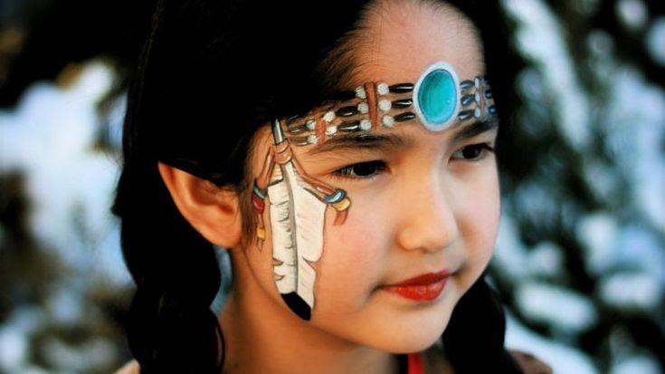 maquillage pour enfants : idée de déguisement pour Halloween