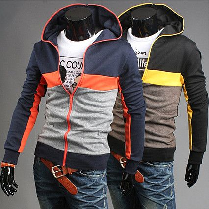 Color Full Zip Up Fashion Style Men Hoodie | Sneak Outfitters