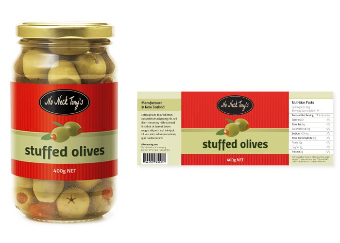 Olive Jar Label - FREE Art Department Resources for film. Can't think of a scene you'd need this for, but we had this design just sitting there unused and wanted to share it :) I have pickles and sundried tomatoes too, if anyone is keen…?  #filmmaking #resources #design