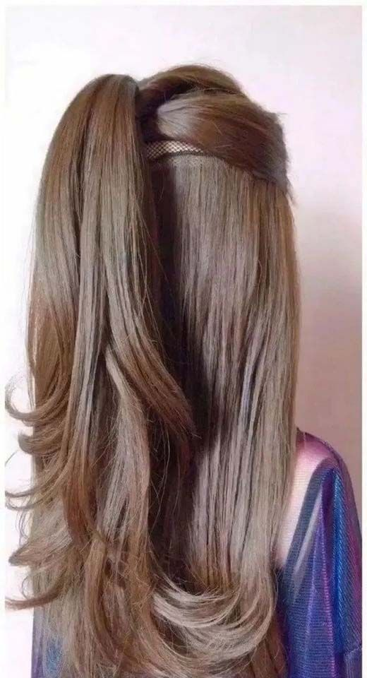 that is pretty awesome long ponytail hairstyle