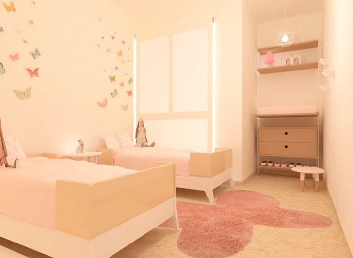 Dise ando habitaciones infantiles con toctoc infantil for Cuartos para ninas vintage